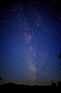Yoshiki撮影夜空